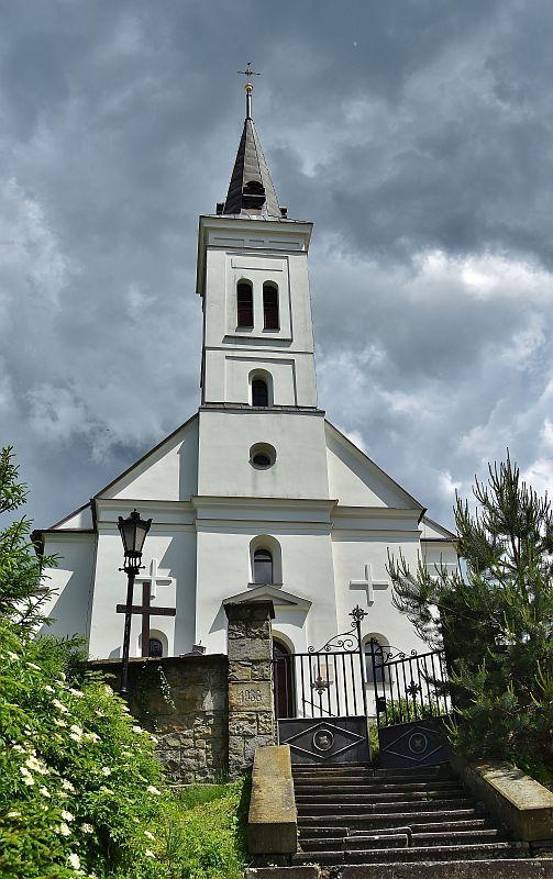 kostel v Malenovicích