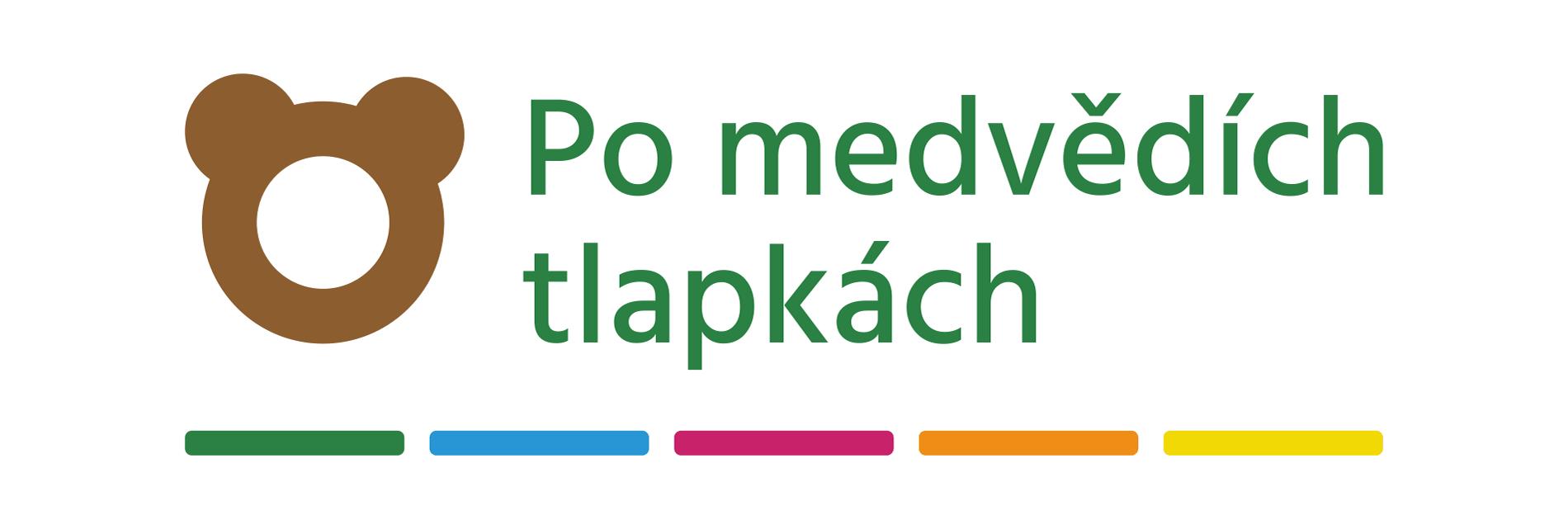 Po medvědích tlapkách - logo