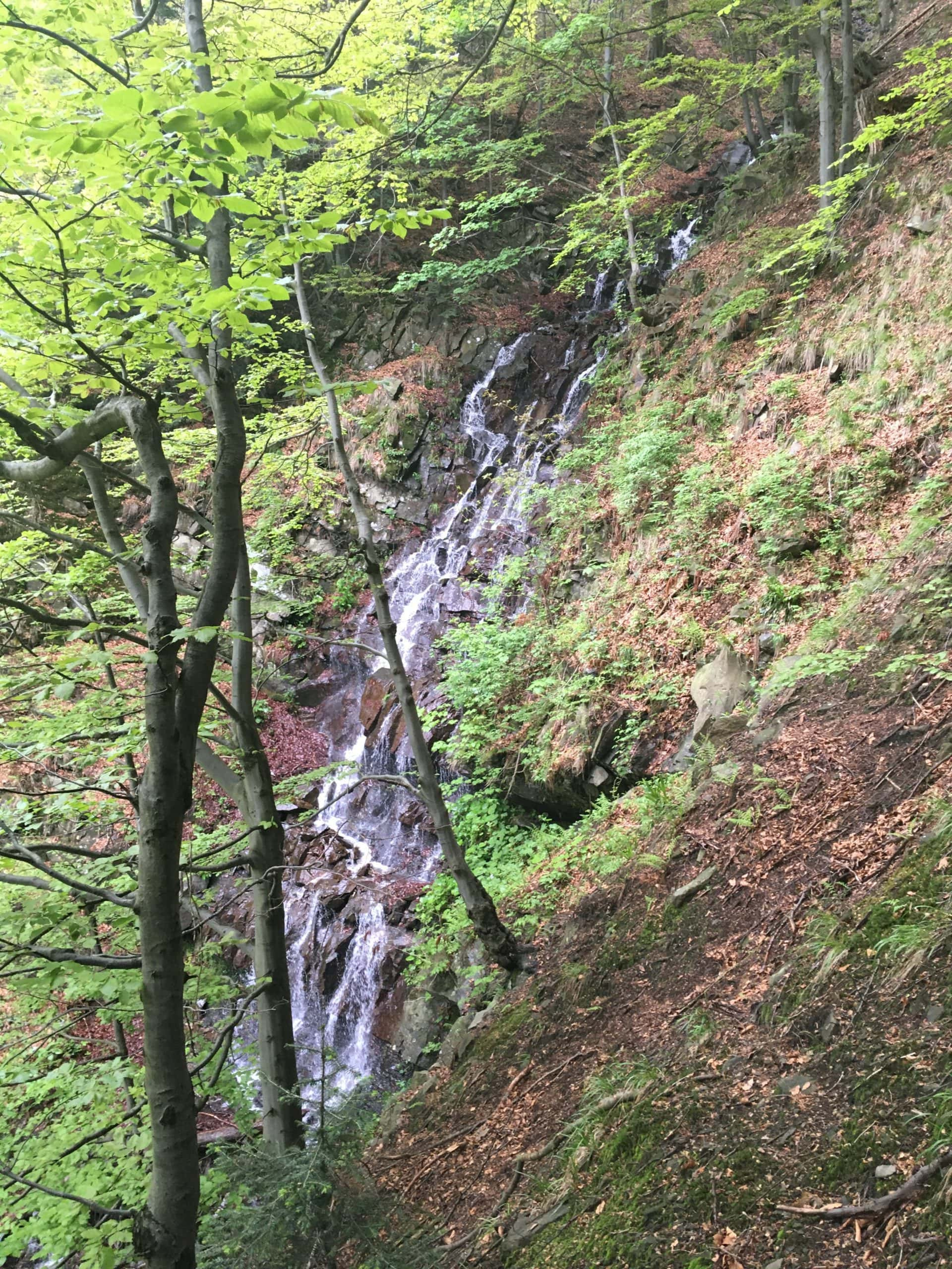 Vodopád na Kobylíku