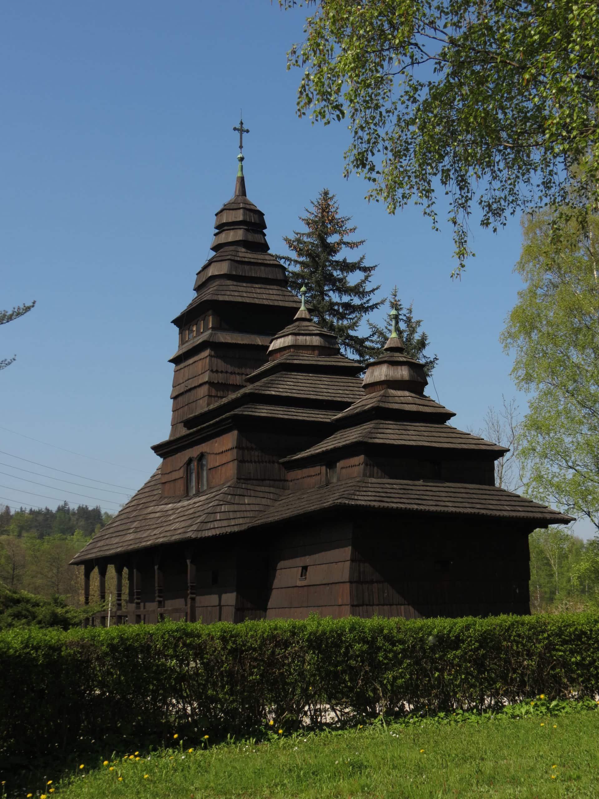Dřevěný kostelík - Sv. Prokopa a Barbory
