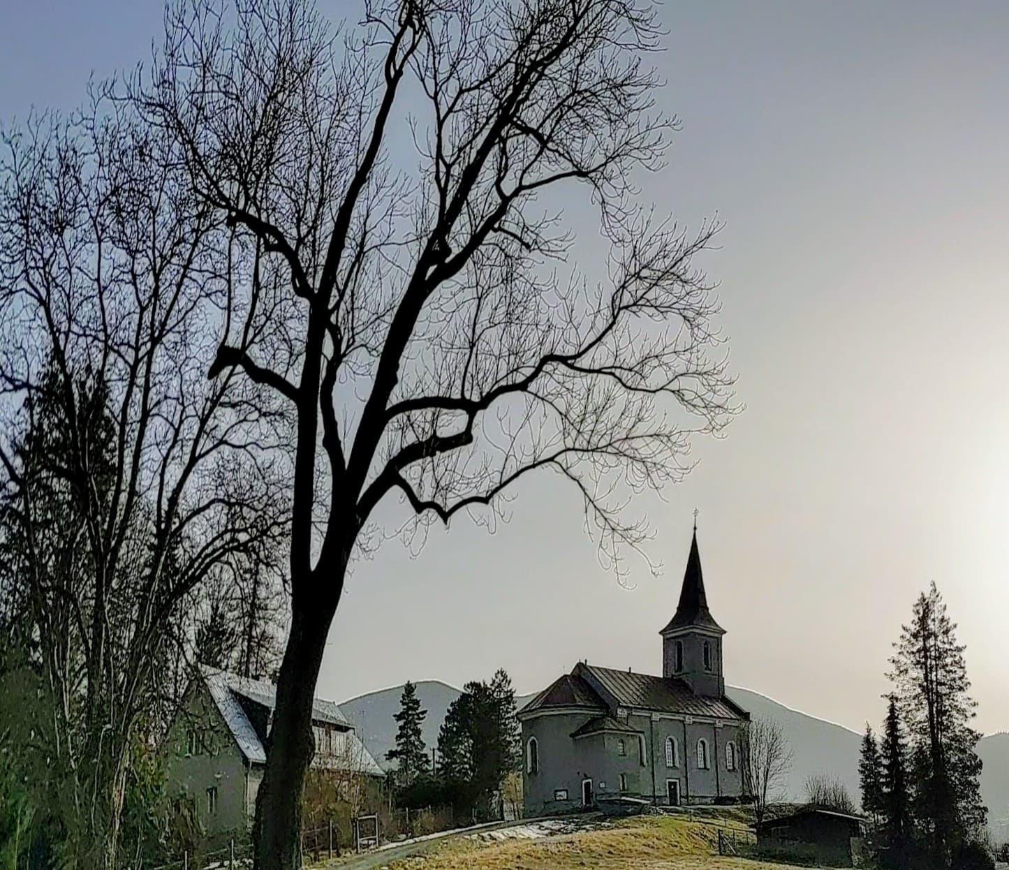 Evangelický kostel v Ostravici