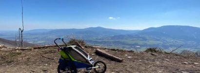 Výhledy z vrcholku Skalky